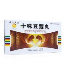 """Tibetan pills """"Wang Shiwei Doukou"""" (Shiwei Doukou Wan) for the output of kidney stones"""