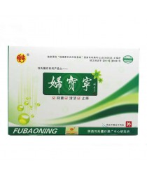 Fubaoning Tampons for Inflammatory Diseases 6 pieces / box