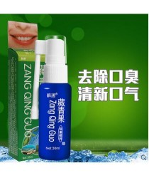 "Antibacterial spray for the mouth ""Ruisyan Qingguo Yijun"" (Qing Guo)"